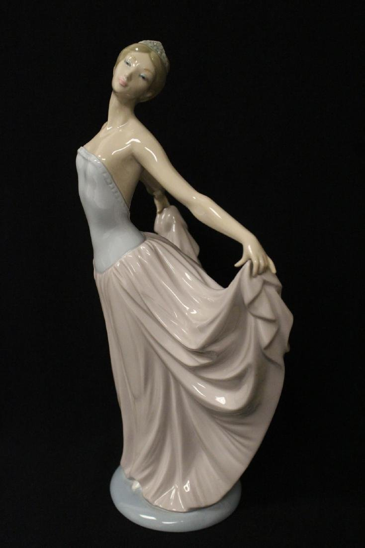 "Lladro figurine ""girl with pink skirt"" - 3"