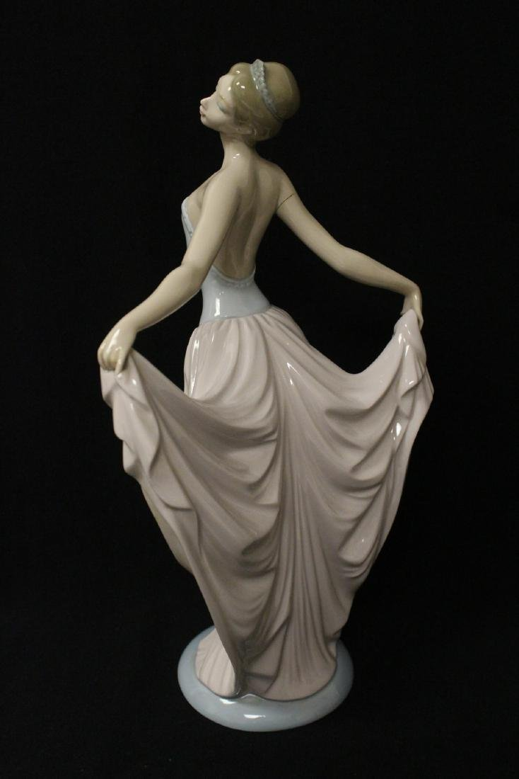 "Lladro figurine ""girl with pink skirt"" - 4"