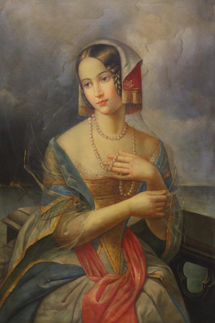 A beautiful oil on canvas painting - 2