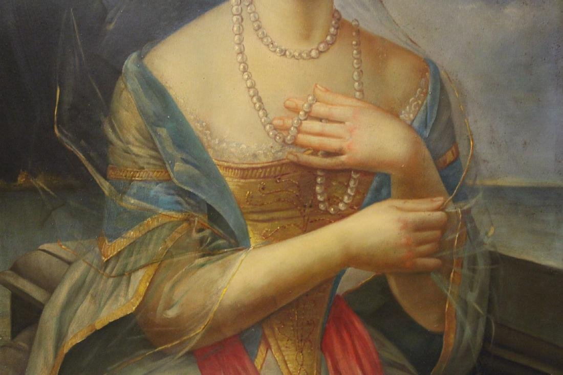 A beautiful oil on canvas painting - 4