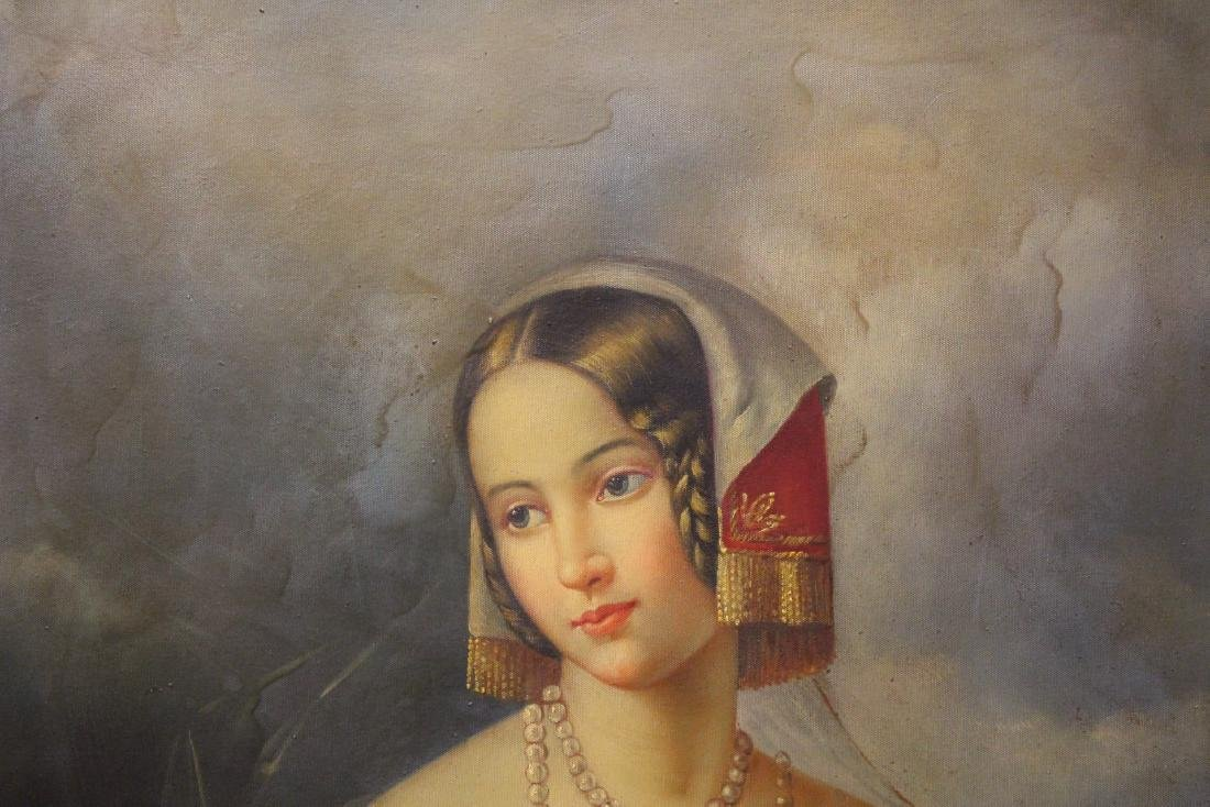 A beautiful oil on canvas painting - 5