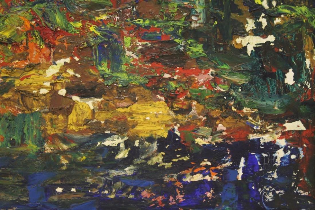 Oil on board by American artist Roberta Kessler - 4