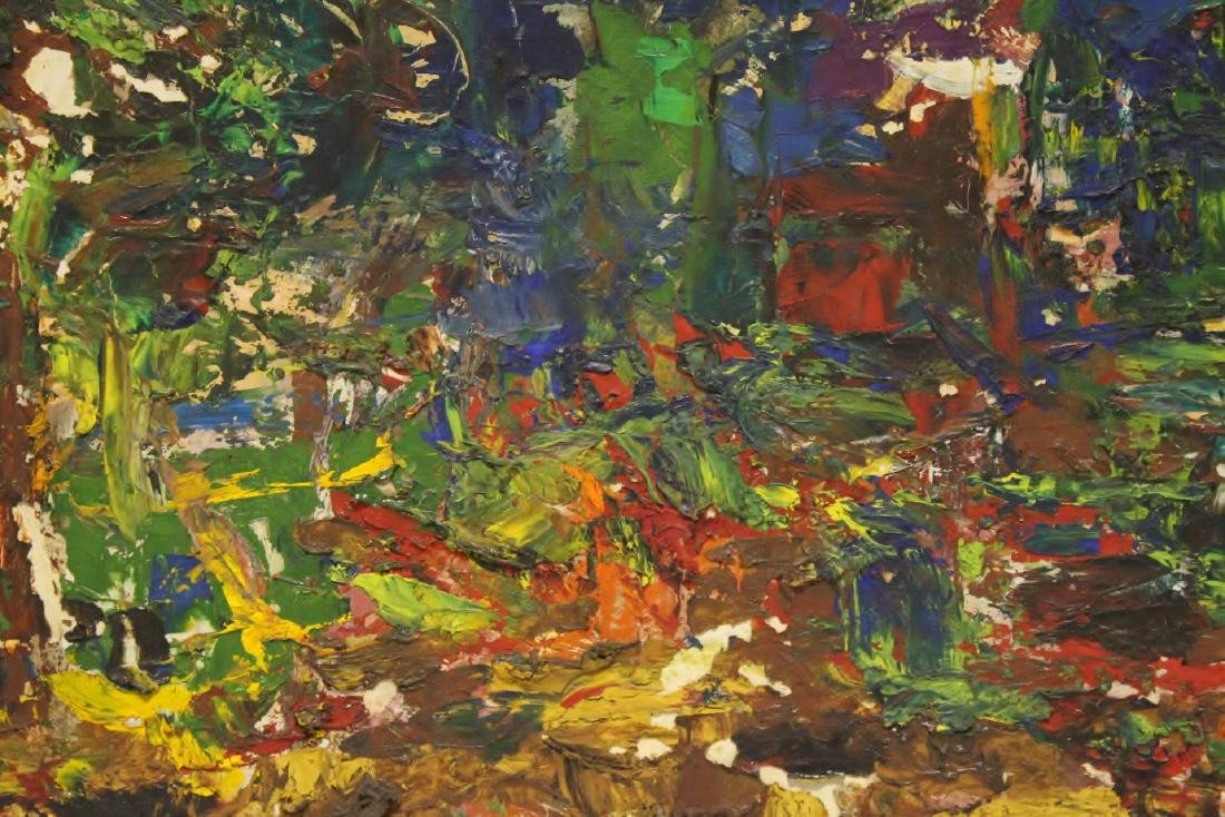 Oil on board by American artist Roberta Kessler - 7
