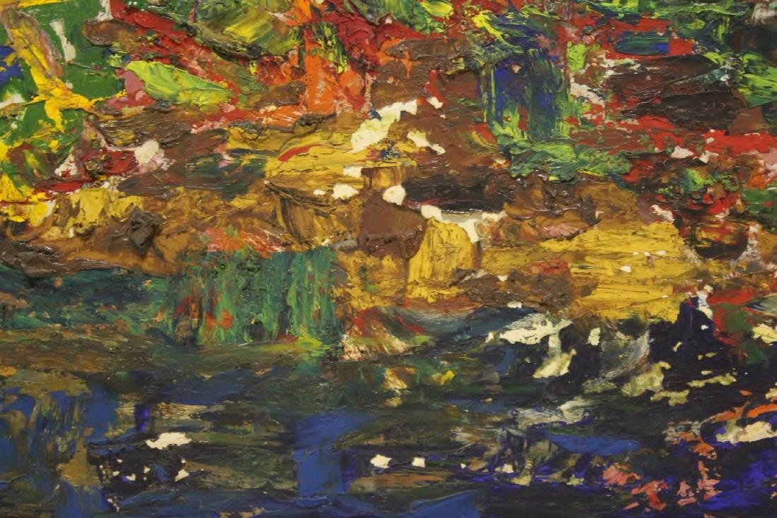 Oil on board by American artist Roberta Kessler - 8