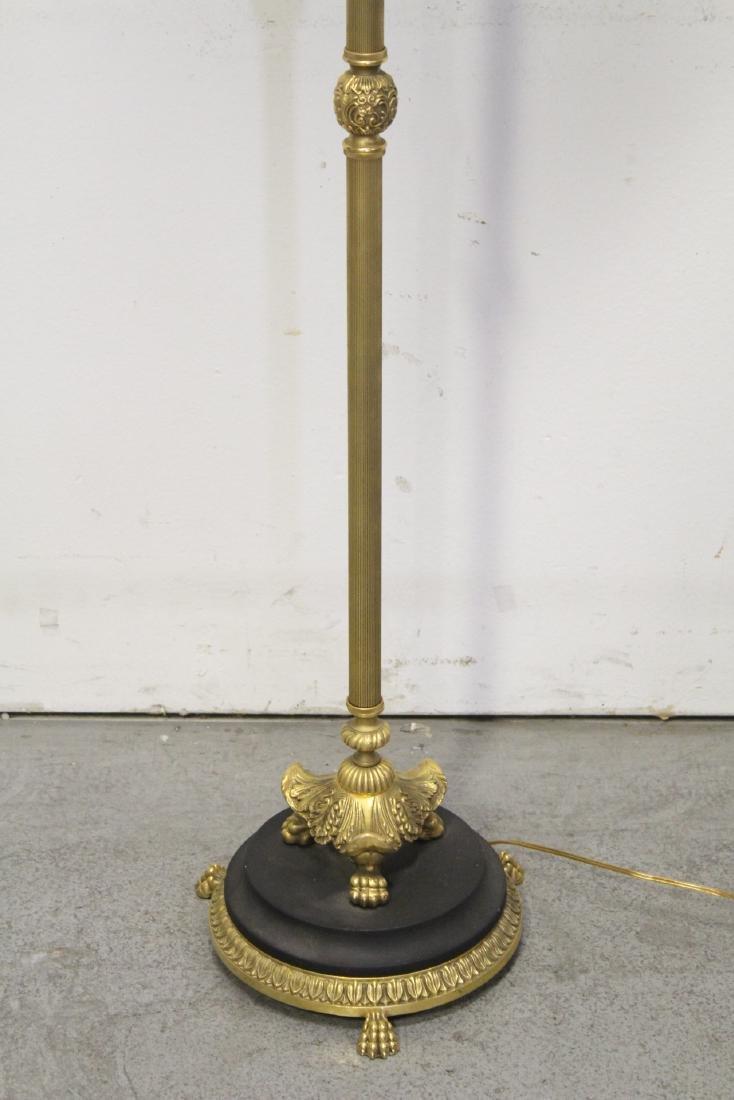 Gilt bronze floor lamp - 2