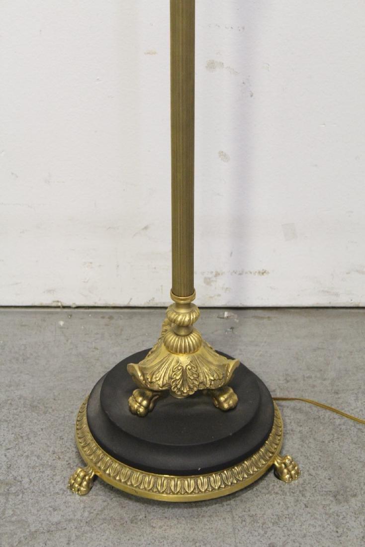 Gilt bronze floor lamp - 5