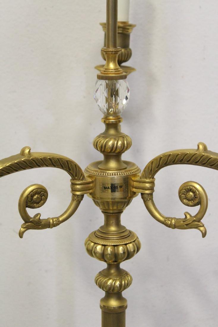 Gilt bronze floor lamp - 9