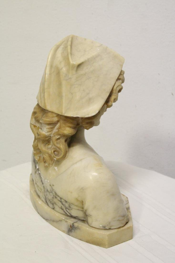 A beautiful 19th/20th century alabaster sculpture - 10