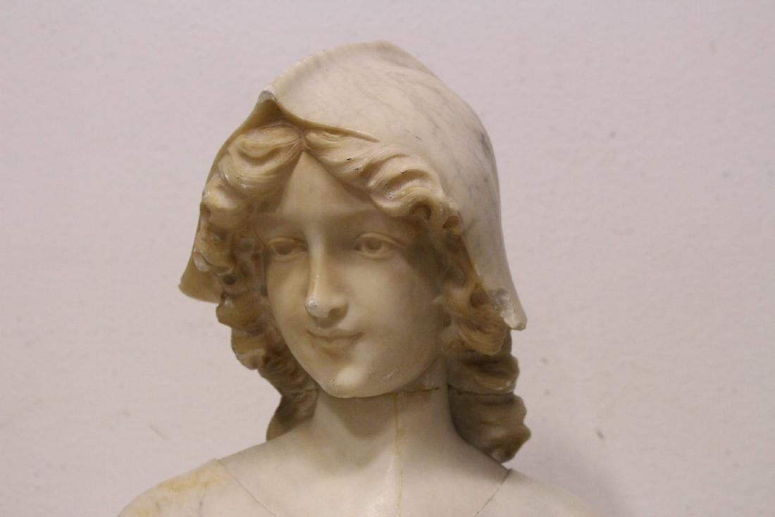 A beautiful 19th/20th century alabaster sculpture - 4