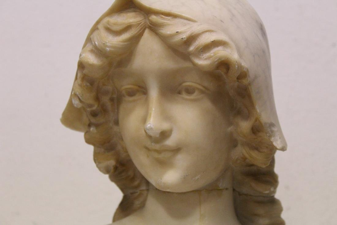 A beautiful 19th/20th century alabaster sculpture - 5