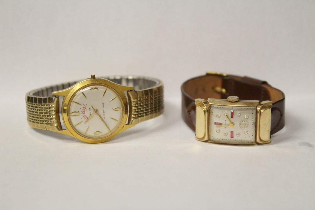 2 wrist watches