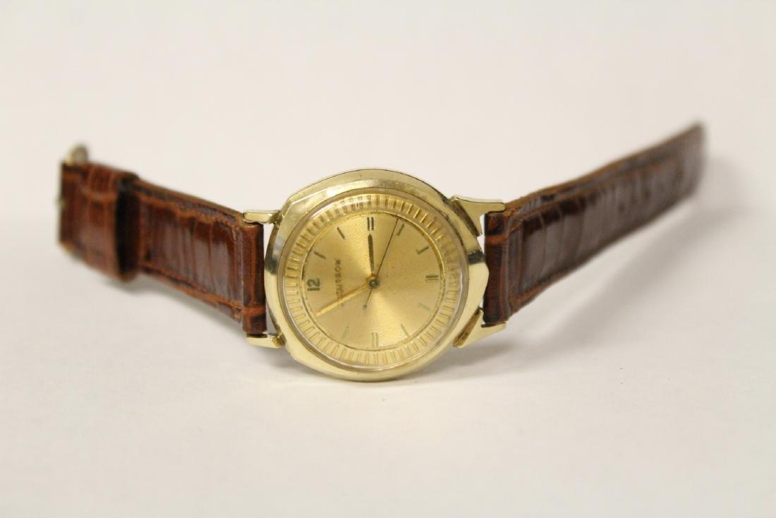 A 14K Y/G Bulova Accutron wrist watch - 2