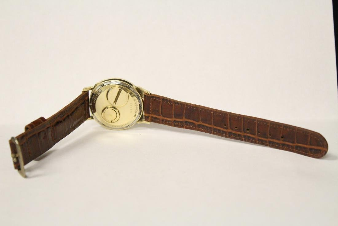A 14K Y/G Bulova Accutron wrist watch - 3