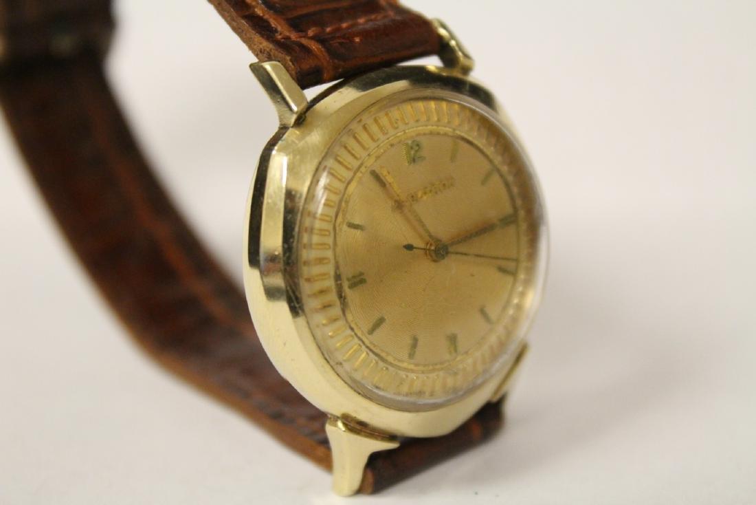 A 14K Y/G Bulova Accutron wrist watch - 8