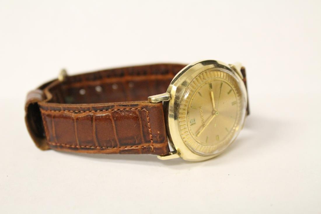 A 14K Y/G Bulova Accutron wrist watch - 9