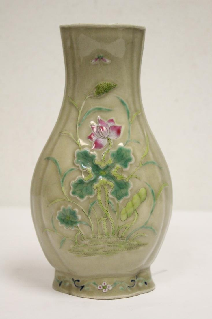 Chinese 19th/20th century export porcelain vase
