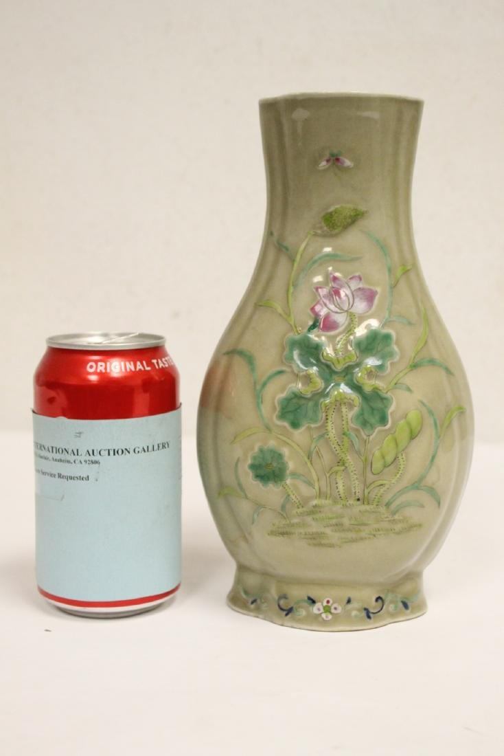 Chinese 19th/20th century export porcelain vase - 3