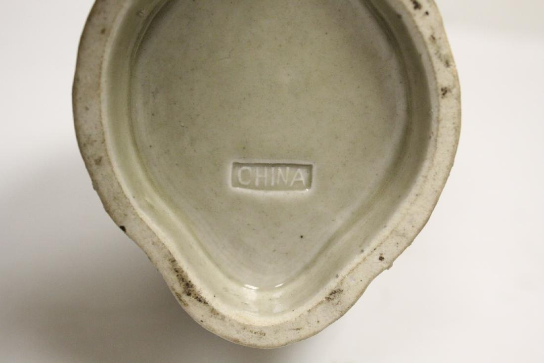 Chinese 19th/20th century export porcelain vase - 9
