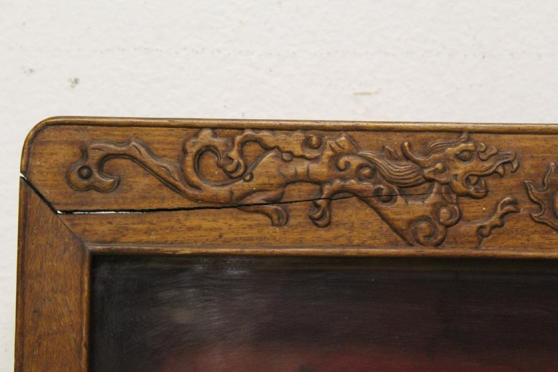 19th/20th c. wall hanging display case - 8