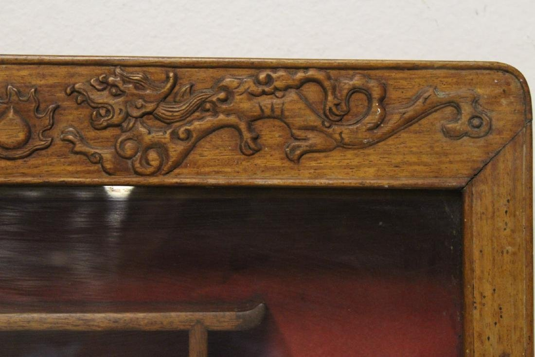 19th/20th c. wall hanging display case - 9