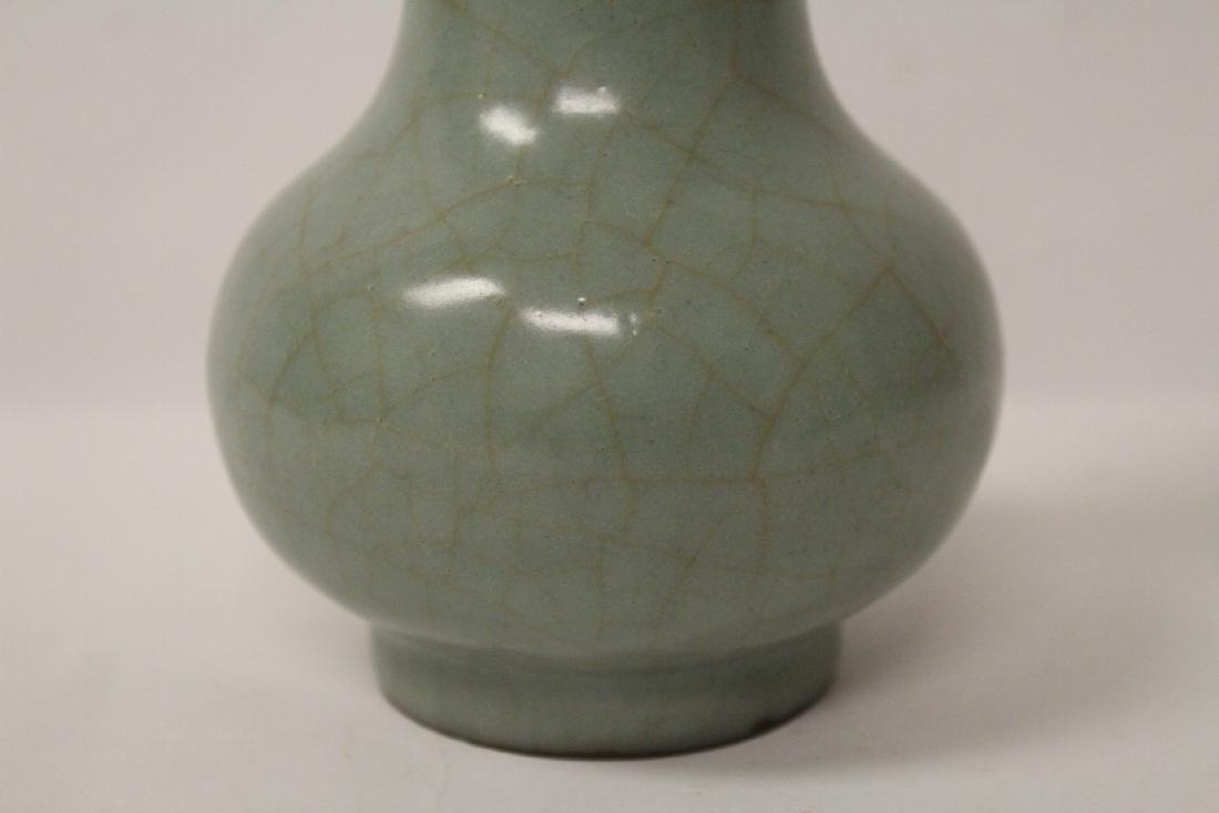 Chinese antique crackleware porcelain vase - 4