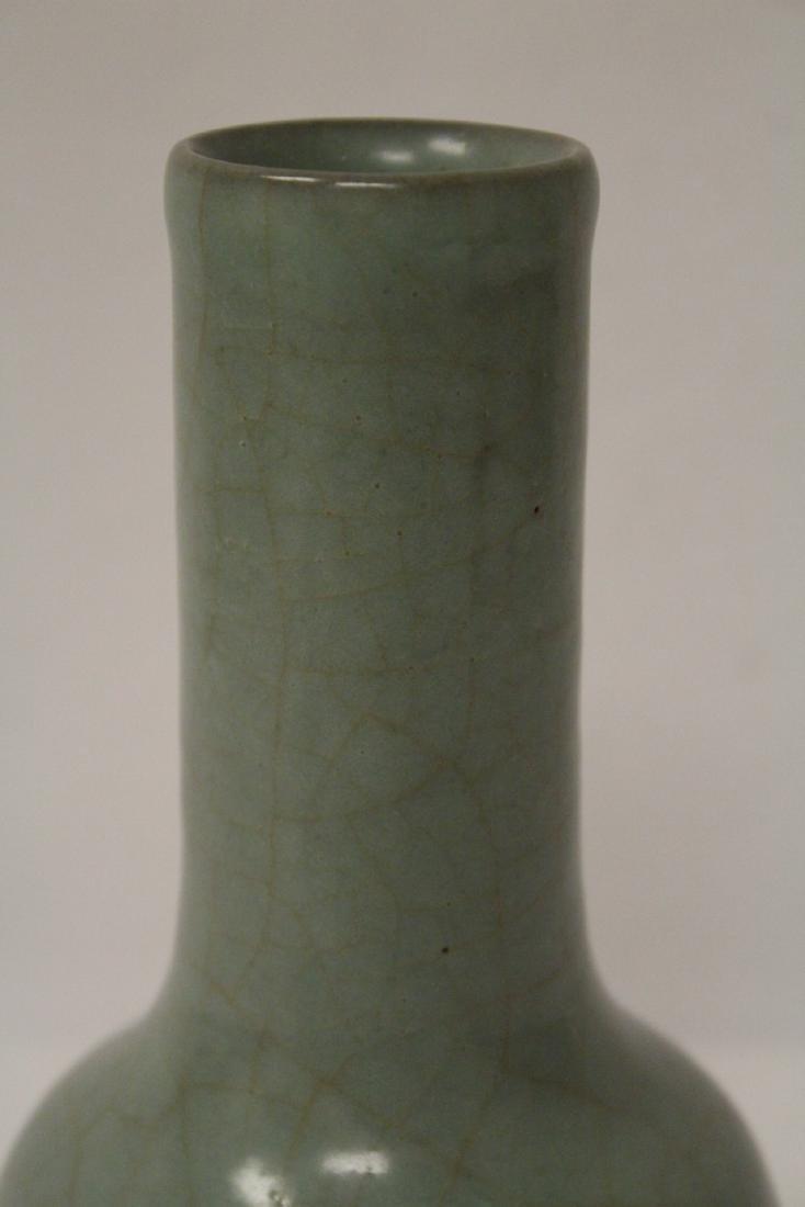 Chinese antique crackleware porcelain vase - 5
