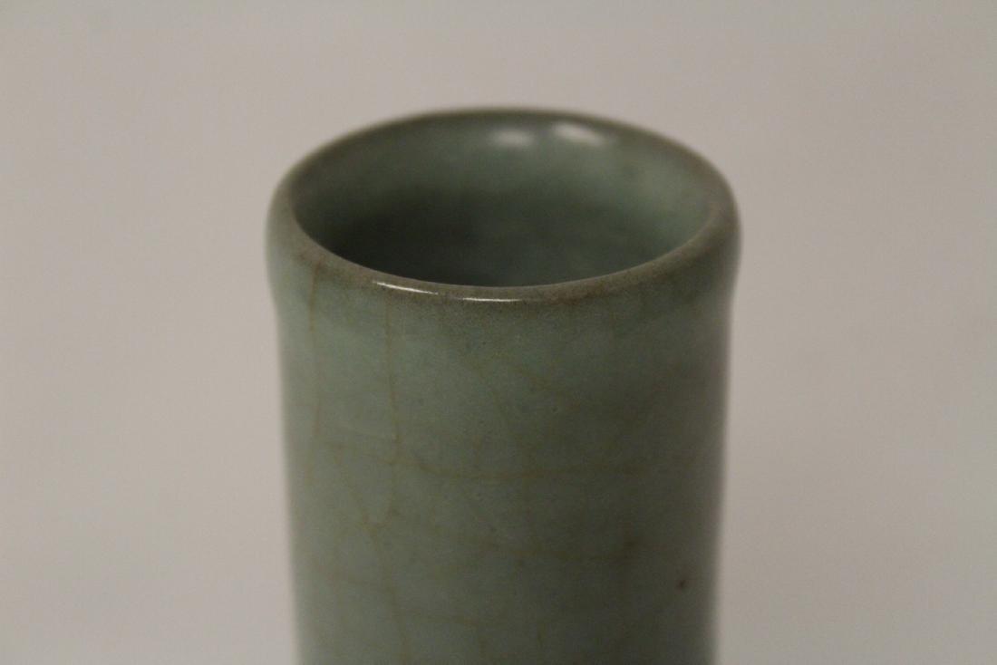 Chinese antique crackleware porcelain vase - 6