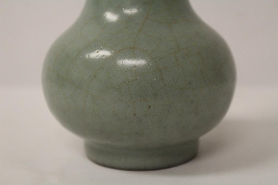 Chinese antique crackleware porcelain vase - 8