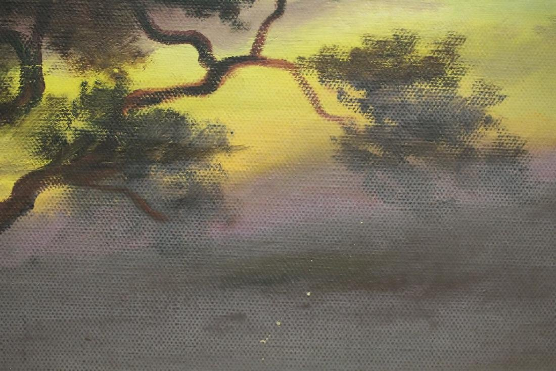 """An early California style painting """"landscape"""" - 10"""