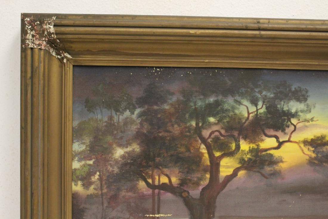"""An early California style painting """"landscape"""" - 2"""