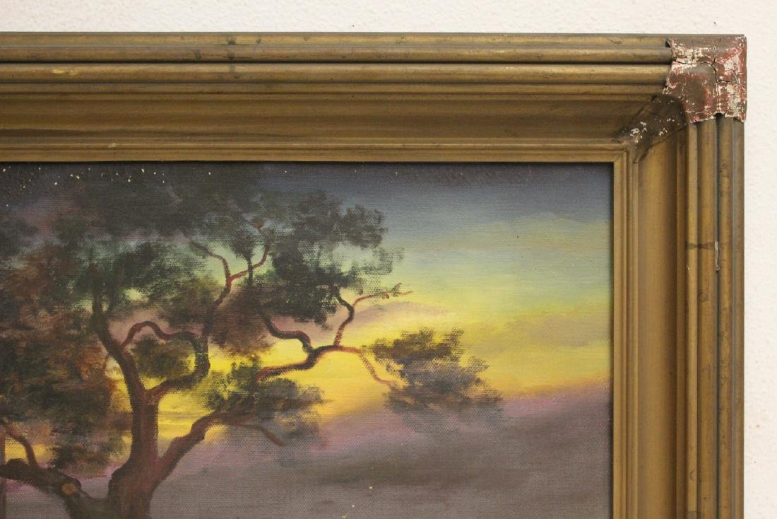 """An early California style painting """"landscape"""" - 3"""