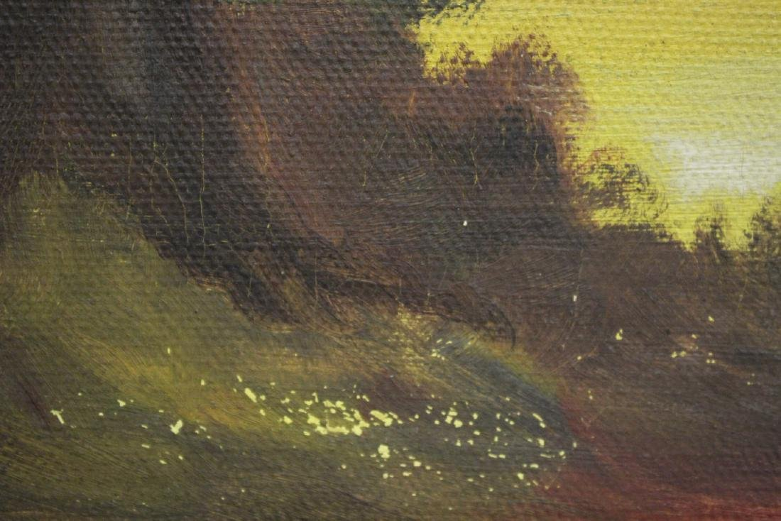 """An early California style painting """"landscape"""" - 9"""
