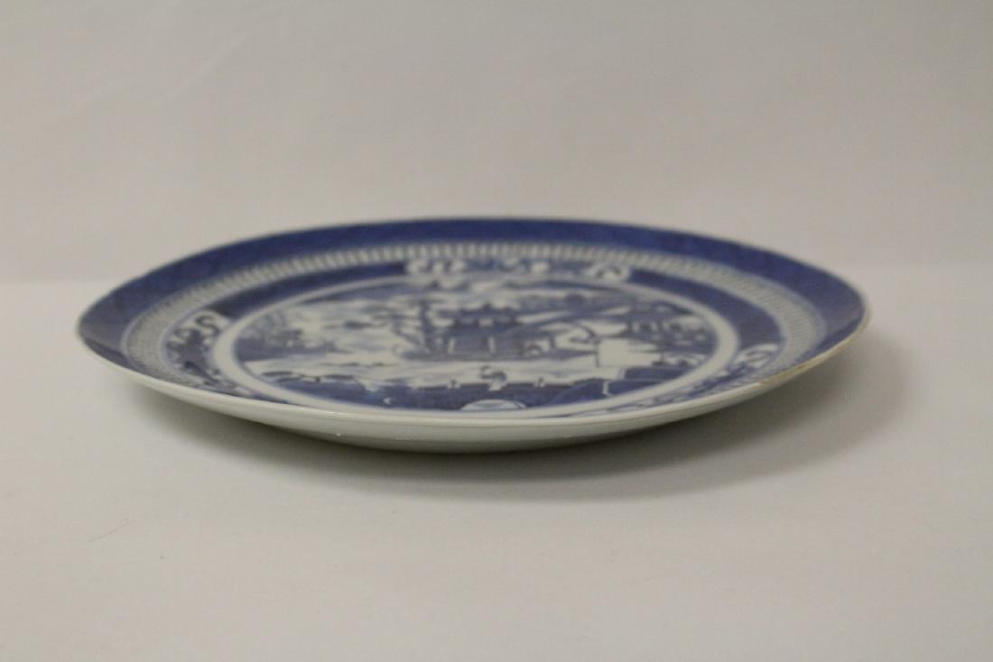 2 porcelain bowls & 2 antique export porcelain plates - 10