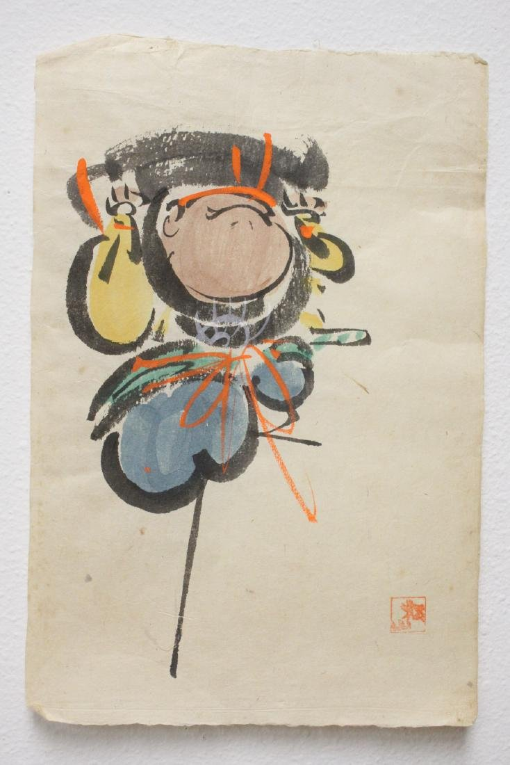 Collection of 15 Japanese woodblock prints - 4