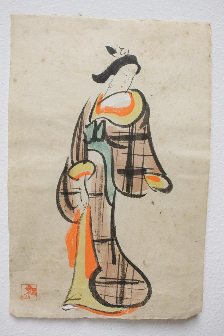 Collection of 15 Japanese woodblock prints - 6