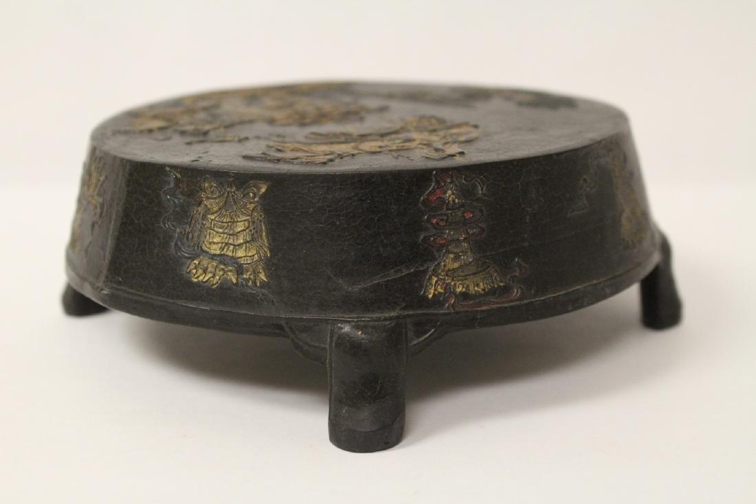 Unusual round shaped ink stick - 3