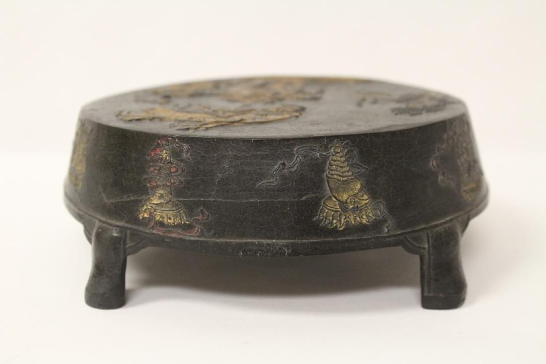 Unusual round shaped ink stick - 4