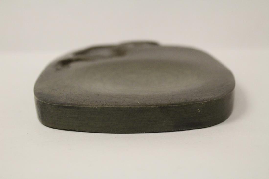 Chinese stone inkwell - 2