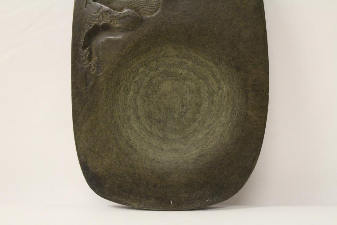 Chinese stone inkwell - 4