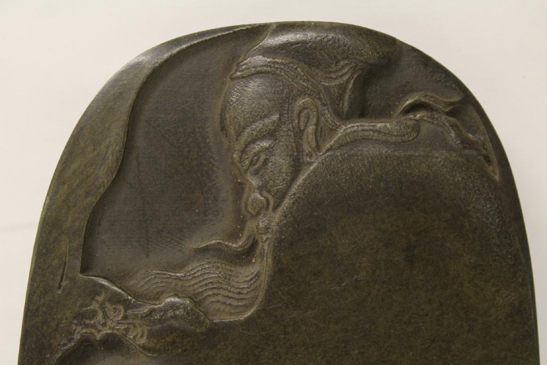 Chinese stone inkwell - 6