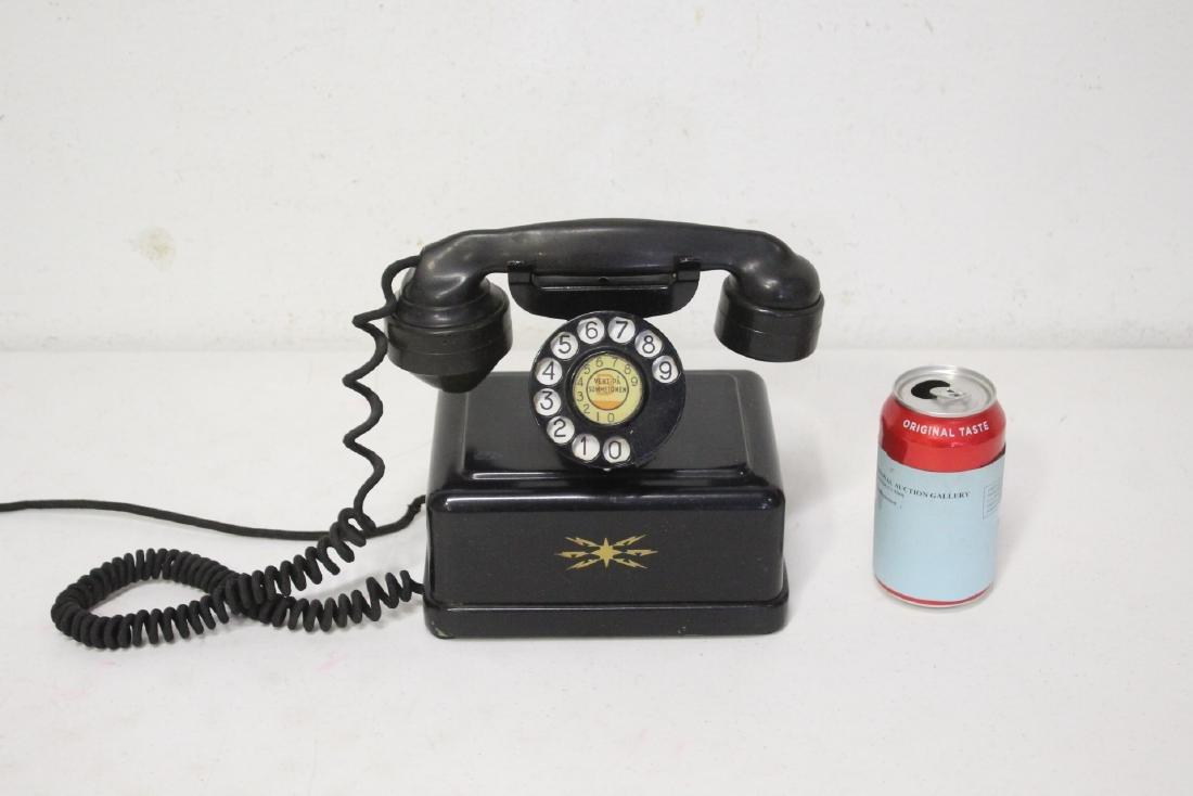 A vintage telephone