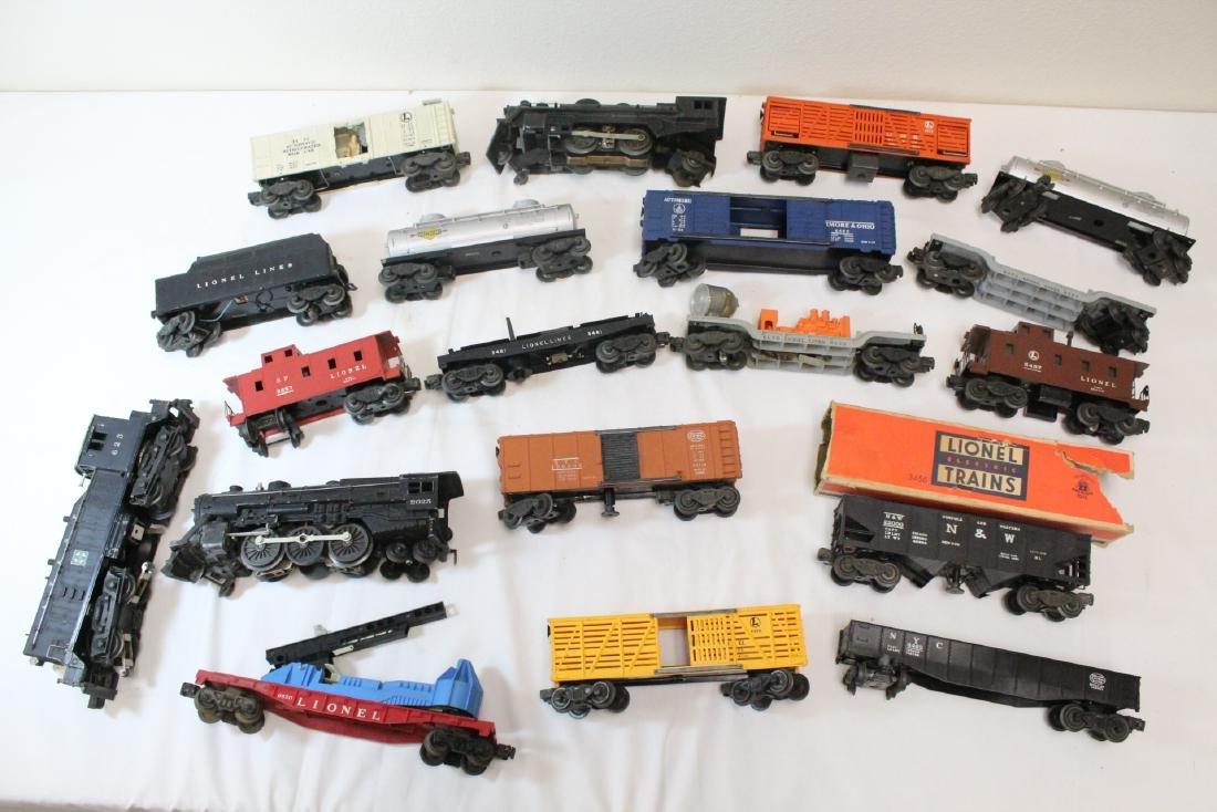 19 pieces Lionel trains - 10