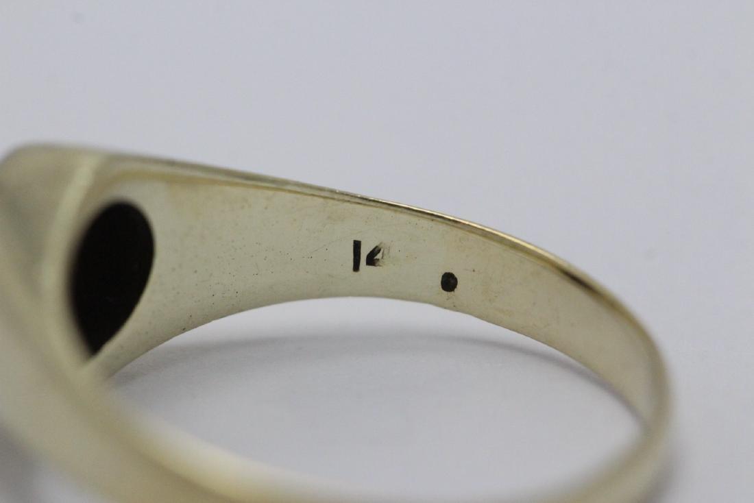 14K Y/G diamond ring - 10