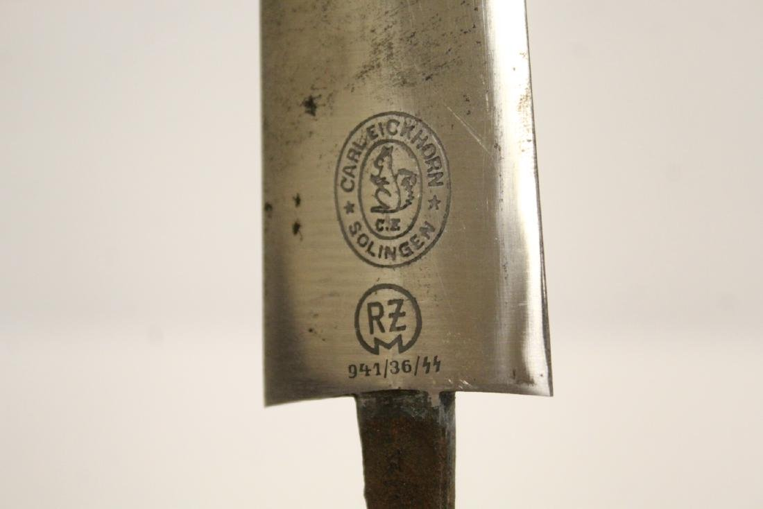 German WWII dagger, missing handle - 10