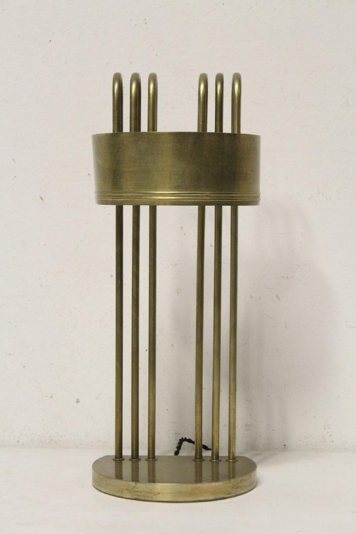 Marcel Breuer table lamp from 1925 Paris Exposition