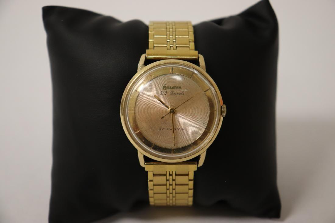 vintage Bulova self winding 23-jewel wrist watch