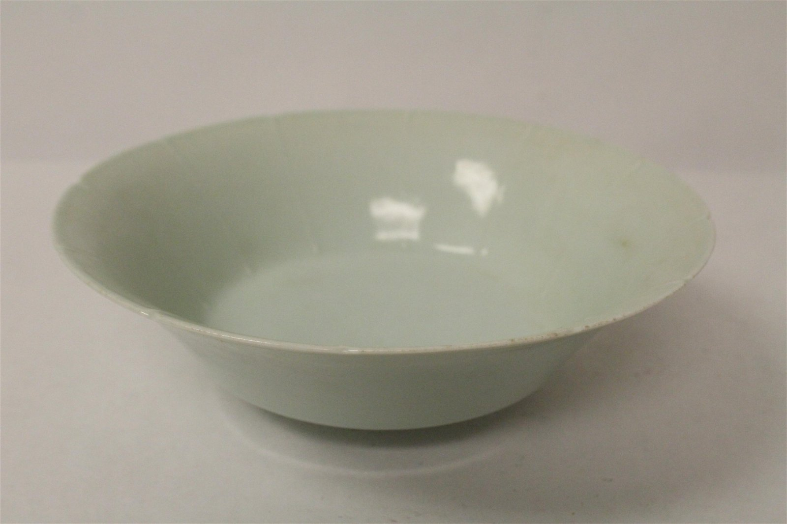 A fine Chinese Song style sky blue porcelain bowl