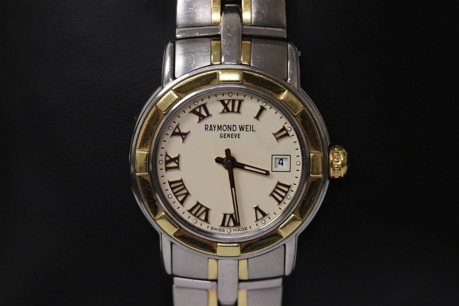 A Raymond Weil Parsifal watch w/ sapphire crystal