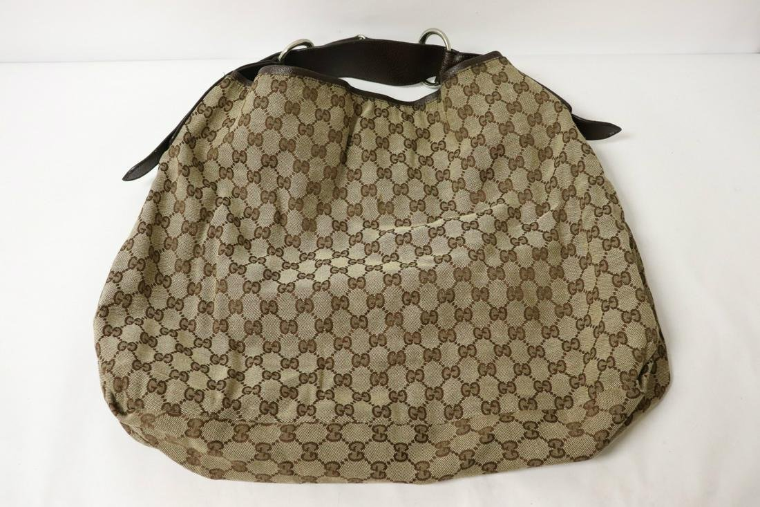 A vintage Gucci sukey tote bag (inside patching loose,