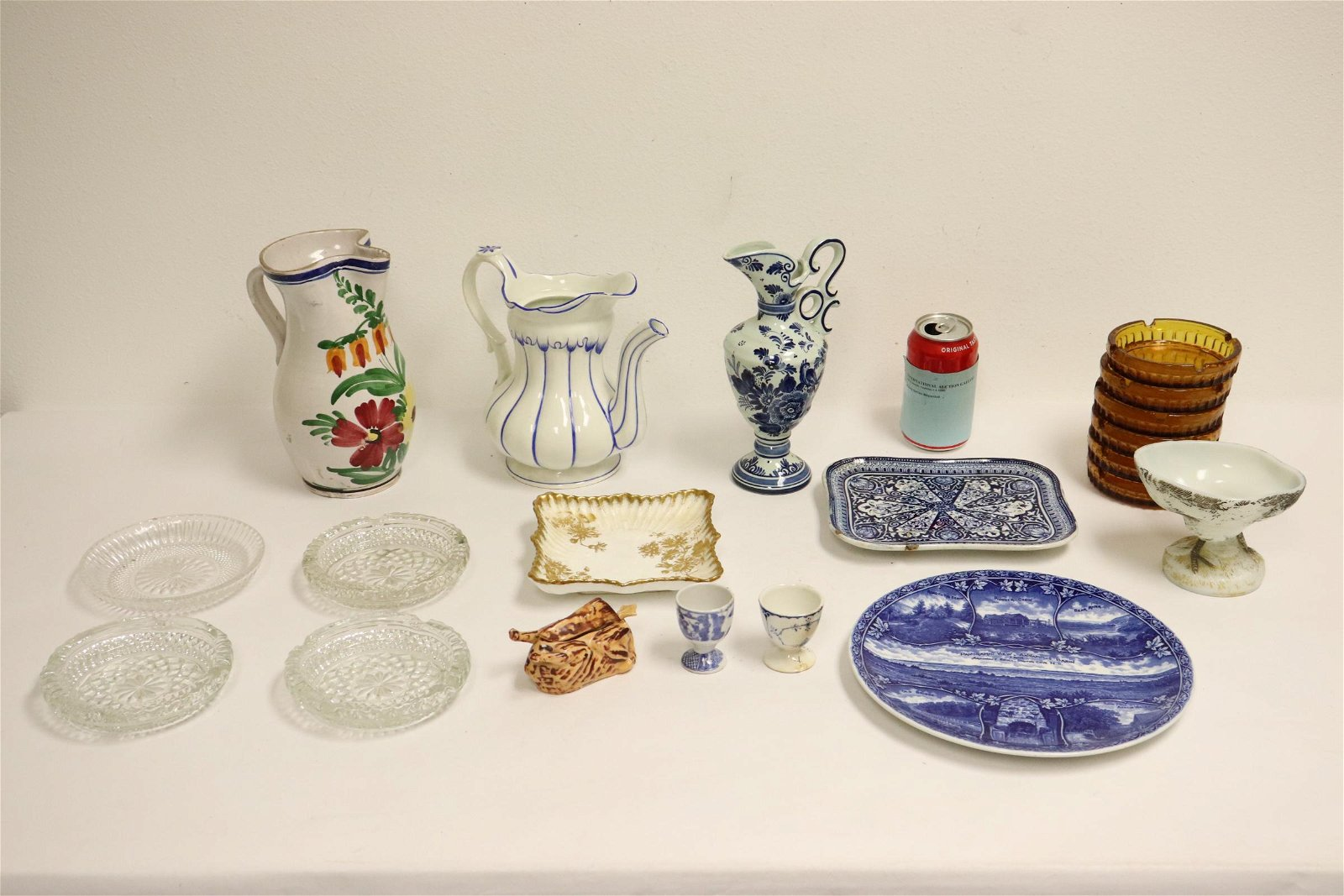 Lot of misc. porcelain and glasses